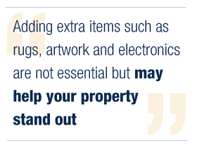 how to furnish a rental property - quote 2