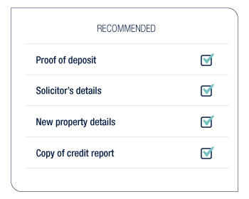 recommended documents for mortgage appointment